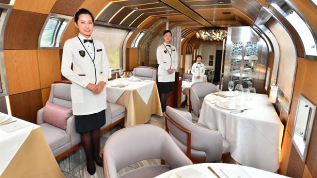 Japonya'nın süit treninde yolculuk 10 bin dolar