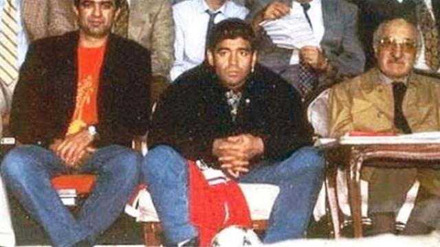 Maradona ile Fethullah Gülen aynı karede