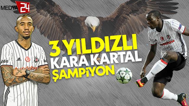 Spor Toto Süper Lig'de şampiyon Beşiktaş ve 3. yıldız