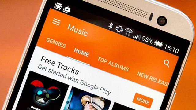Google Play Music'ten 120 günlük deneme süresi