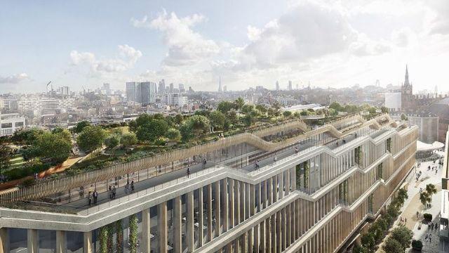 Google'den Londra'da 11 katlı devam kampüs