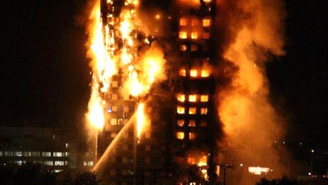 Londra'daki korkunç yangında bir annenin cesareti