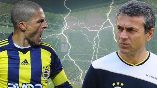 Alex de Souza'dan Fenerbahçe'ye 'Kocaman' gönderme