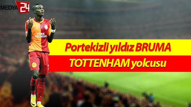Galatasaray'dan Bruma'ya veda