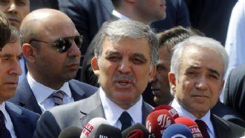 Abdullah Gül'den Eski Yol Arkadaşlarına Sitem
