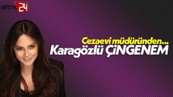 Şair cezaevi müdüründen Ebru Gündeş'e unutulmaz şarkı