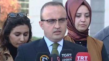 Bülent Turan: 'Sayın Yıldırım, grup başkanımız olacak'