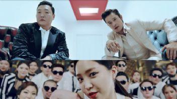 PSY'den yeni Gangnam Style rekoru