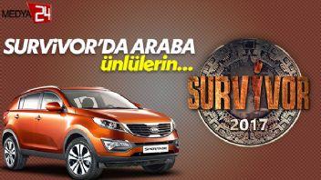 Survivor 2017'de araba ödülü ünlülerin