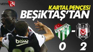 Beşiktaş Aboubakar ile şampiyonluğa: 2-0