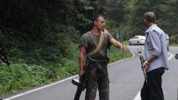 Trabzon'da teröristlerle sıcak temas