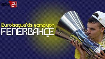 THY Euroleague'de şampiyon Fenerbahçe: 80-64