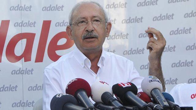 Kılıçdaroğlu'ndan Adalet Kurultayı mesajları