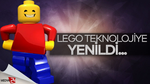 Lego teknolojiye yenildi