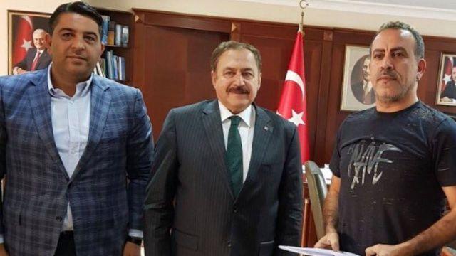 Haluk Levent, Bakan Eroğlu ile görüştü
