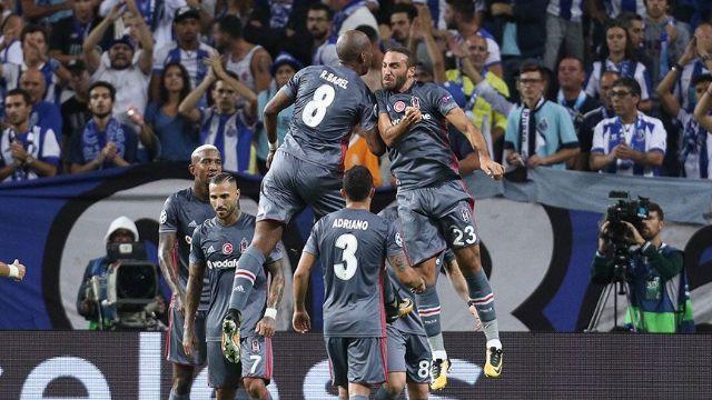 Porto kahramanı Beşiktaş Avrupa basınında