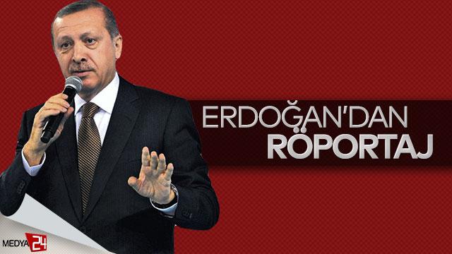 Erdoğan , ABD'li gazeteciye röportaj verdi