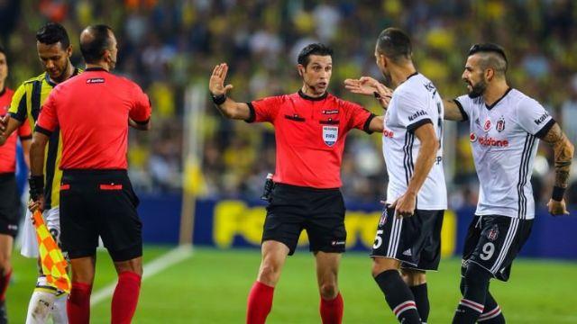 FB-BJK maçının hakemine büyük ceza