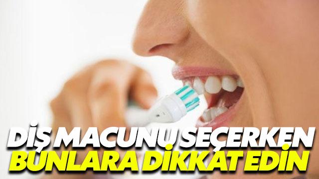 Florürsüz diş macunu tercih etmelisiniz!