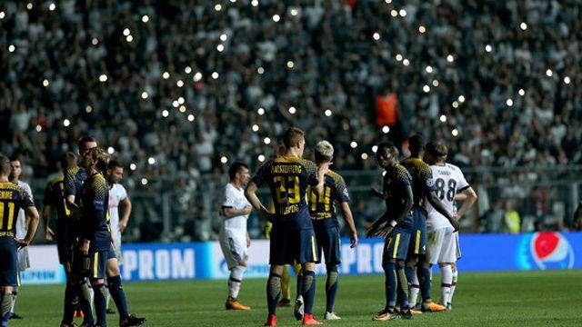 Beşiktaş'a soruşturma açan UEFA, Nice'a açmadı