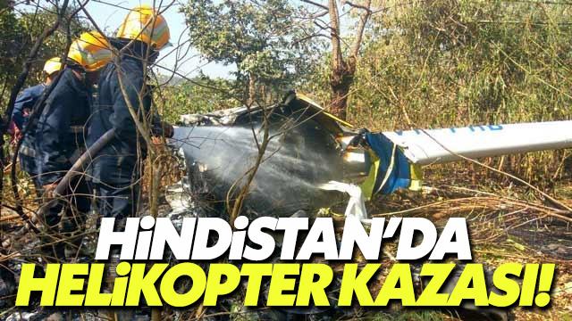 Hindistan'da askeri helikopter kazası 7 kişiyi öldürdü