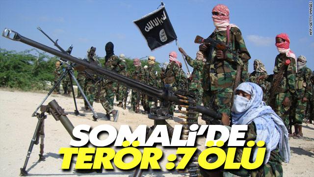 Somali'de kontrol noktasında terör saldırısı