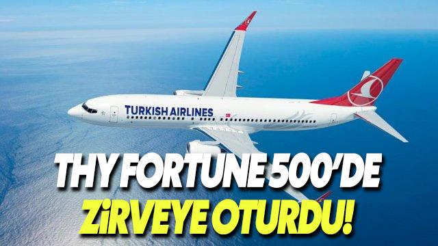 Fortune 500'de Şampiyonumuz: THY