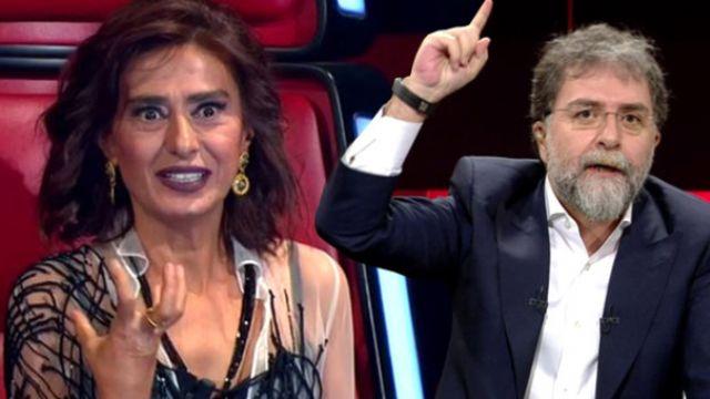 Yıldız Tilbe ile Ahmet Hakan birbirine girdi