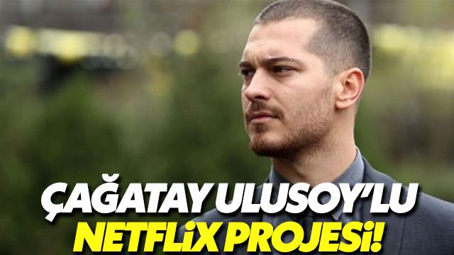 Çağatay Ulusoy Netflix dizisinin başrolünde