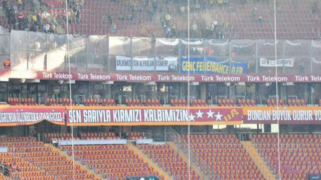 Fenerbahçe taraftarlarından duygulandıran pankart