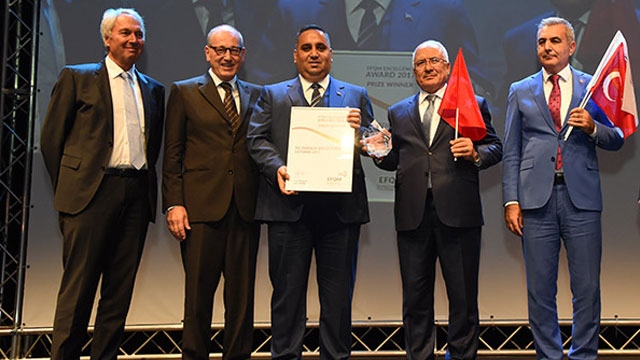 Tarsus Belediyesi 'Avrupa Mükemmellikte Başarı Ödülü'nü kazandı