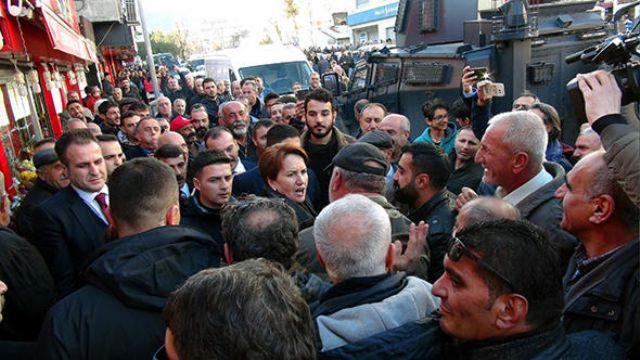 Tunceli'de İYİ Parti Lideri Akşener'e yoğun ilgi