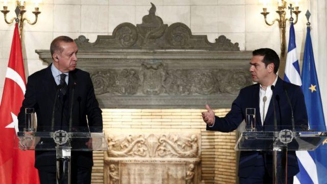 Yunanistan'dan küstah sözler, Çipras saçmaladı!