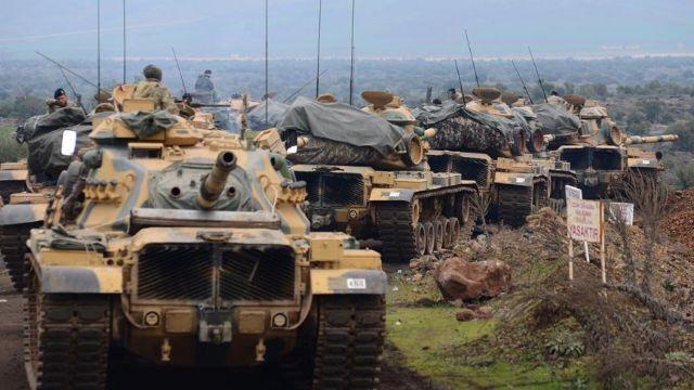 Zeytin Dalı Harekatı 6'ncı gününde Erdoğan Karargahta