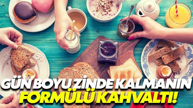 Gün boyu zindeliğin anahtarı kahvaltı yapmak!