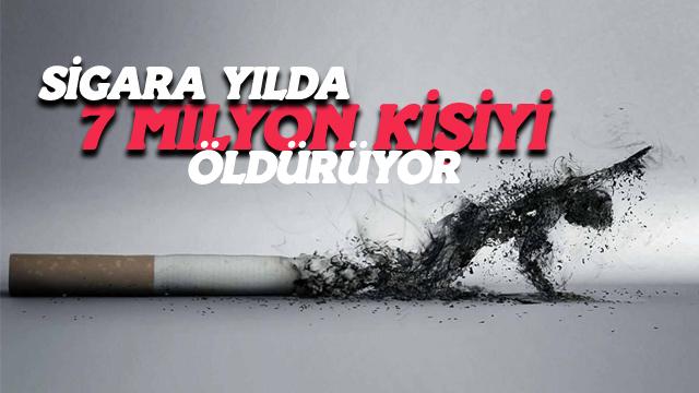 Sigara Yılda 7 Milyon Kişiyi Öldürüyor