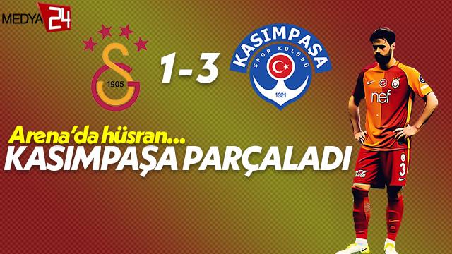 Arena'da Galatasaray'a 'PAŞA' darbesi