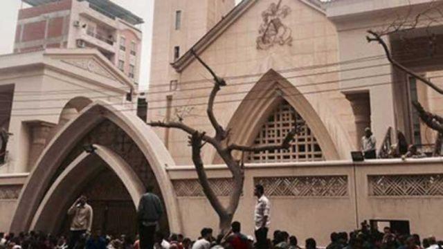 Kiliseye Saldırı
