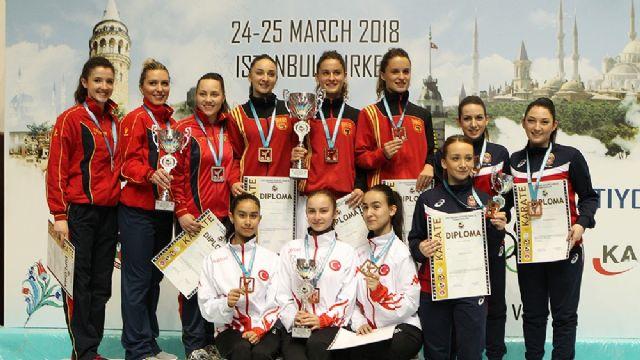Balkan şampiyonasında madalyaları topladık