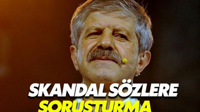 Ahmet Maranki'nin tehdit sözlerinin ardından soruşturma açıldı