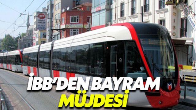 İBB'den İstanbullara bayram müjdesi