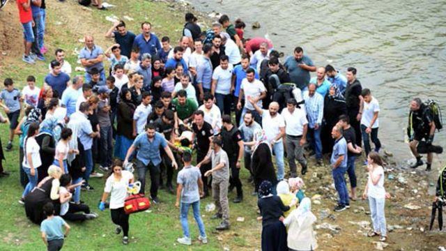 Alibeyköy'de serinlemek için baraja giren 3 çocuk hayatını kaybetti