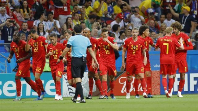 Belçika favori Brezilya'yı evine gönderdi