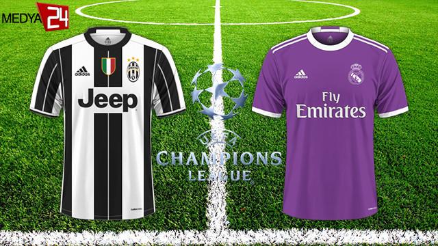 Şampiyonlar Ligi'nde finalin adı: Juventus - Real Madrid