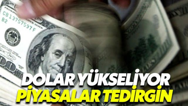 Dolar kuru 5.50 TL'yi geçti piyasalar tedirgin