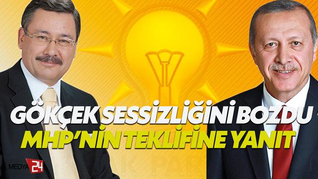 Melih Göğebakan: Gökçek, 'Ben AK Partiliyim' dedi