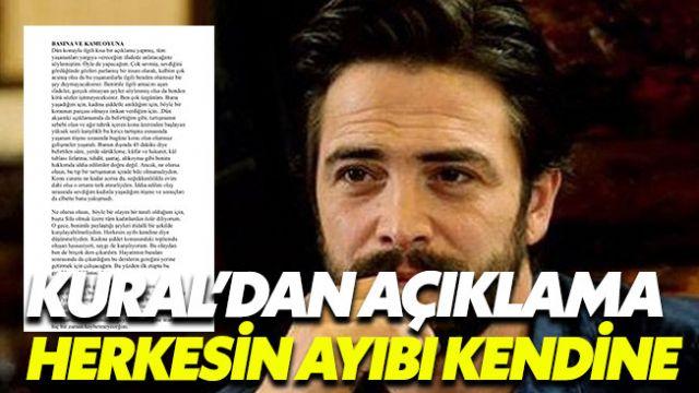 Ahmet Kural'dan açıklama: Herkesin ayıbı kendine