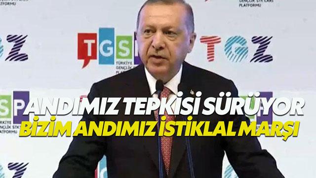 Cumhurbaşkanı Erdoğan: Bu metin ezanı Türkçe okutmak isteyenlerin metnidir