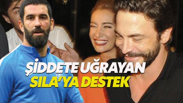 Arda Turan'dan Sıla Gençoğlu'na destek