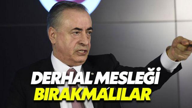 Mustafa Cengiz: Bu Üç Hakem Derhal Mesleği Bırakmalıdır